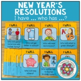 NEW YEARS RESOLUTION - I have... who has...? (ESL/EFL)