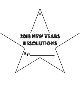 NEW YEARS RESOLUTION STARS
