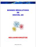 NEW YEAR'S RESOLUTIONS - Future Tense / Vocabulary (Common Core/ACTFL Aligned)