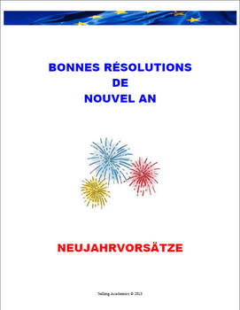 NEW YEAR'S RESOLUTIONS - Future Tense / Vocabulary (Common Core/ACTFL Aligned)