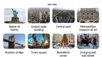 NEW YORK FAMOUS ATTRACTIONS
