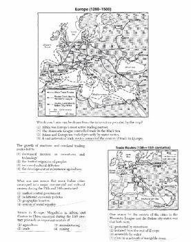 Global History Multiple Choice Quiz Unit 15/40 - REGENTS ALIGNED