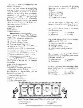 Global History Multiple Choice Quiz Unit 24/40 - REGENTS ALIGNED