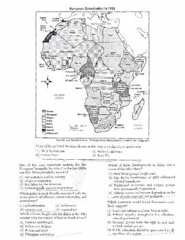 Global History - Multiple Choice Regents Questions Quiz (Unit 25 of 40)