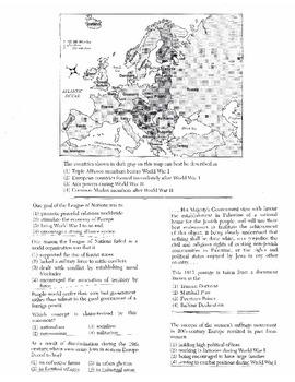 Global History - Multiple Choice Regents Questions Quiz (Unit 29 of 40)