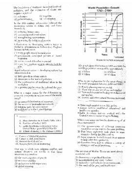 Global History Multiple Choice Quiz Unit 40/40 - REGENTS ALIGNED
