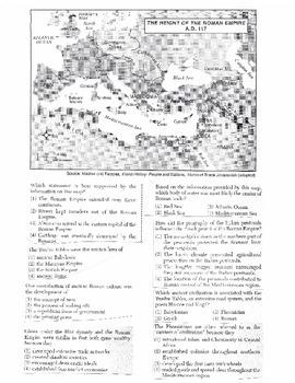 Global History Multiple Choice Quiz Unit 6/40 - REGENTS ALIGNED
