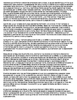 Global History 10th grade (2nd Sem) Reading Guide Units 31-40 - SPANISH REGENTS