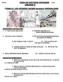 U.S. - Study Guide - Units 21-37/37 - 11th grade - SPANISH