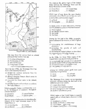 US History Multiple Choice Quiz Unit 1/37 - REGENTS ALIGNED