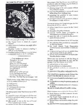US History - Multiple Choice Regents Questions Quiz (Unit 31 of 37)
