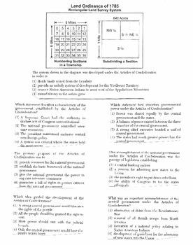 US History - Multiple Choice Regents Questions Quiz (Unit 5 of 37)
