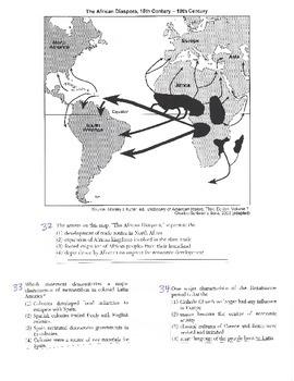 Global History Multiple Choice Quiz - 9th grade (2nd sem) Final (Units 16-20)