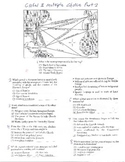 Global History - Multiple Choice Quiz - 9th grade (2nd sem) Final (Units 16-20)