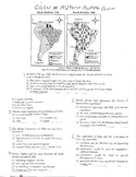 Global History - Multiple Choice Quiz - 10th grade (1st se