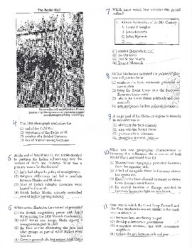 Global History - Multiple Choice Quiz - 10th grade (2nd sem) Mid (Units 31-35)
