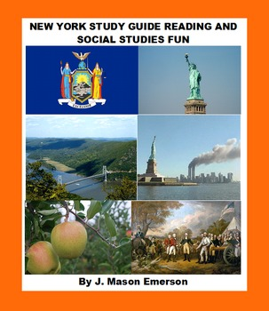 NEW YORK STUDY GUIDE READING AND SOCIAL STUDIES FUN with SOME ESL SPANISH TOO