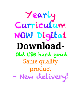 NEW Yearly Curriculum Digital Download- NO USB Needed