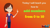 Addition of Numbers 0–10: Video/Animation K-1 Test/Quiz Prep, Review, Assessment