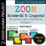 NEW! ZOOM Reward Coupons & Menu | Video Conferencing | Editable