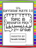 NEW enVision Math 2.0 Aligned 2nd Grade Topic 15 Shapes Resource Pack