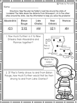 NEW enVision Math 2.0 Topic 11 Resource Pack 2nd Grade