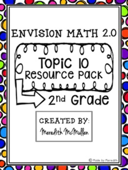 NEW enVision Math 2.0 2nd Grade Topic 10 3-Digit Addition