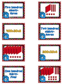 NEW enVision Math 2.0 2nd Grade Topic 9 Place Value Resource Pack