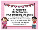 A Bundle of Valentine Math Centers your students will LOVE!
