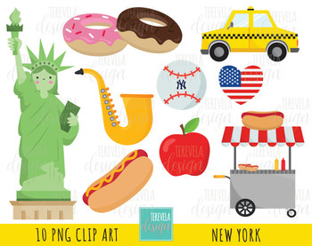 NEW york clip art, commercial use, statue of liberty, NY, Usa, travel