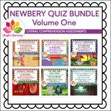 NEWBERY  PRINTABLE QUIZ BUNDLE | VOLUME 1