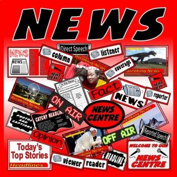 NEWS, NEWSPAPER WRITING AND ROLE PLAY - ENGLISH LITERACY SPEAK LISTEN