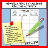 NEWSELA READING ACTIVITY: READ 8 CHALLENGE LOG FOR INFORMATIONAL TEXT