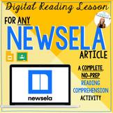 NEWSELA Reading Response Activities for ANY Newsela text   Google Slides