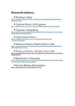 NEWSFLASH: NATURAL HAZARDS