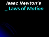 NEWTON'S 3 LAWS of MOTION - New and Imptoved!
