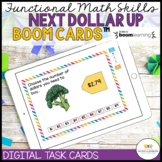 NEXT DOLLAR UP BOOM CARDS: FUNCTIONAL MATH & FOOD SHOPPING
