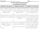 Nonfiction Note-Taking Rubric