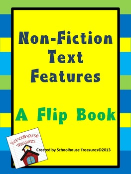 NF Text Features Pages for Interactive Notebooks