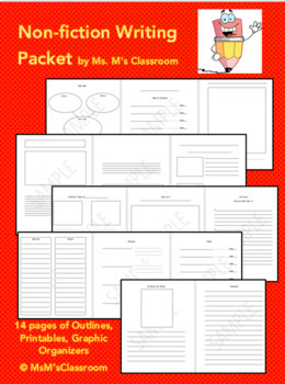 NF Writing Planner Packet