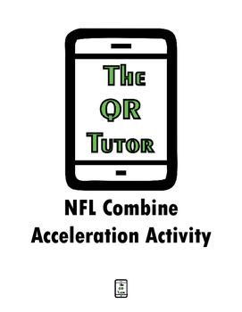 NFL Combine Acceleration Lab Activity