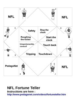NFL Fortune Teller