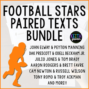 Paired Texts: Football Stars Bundle