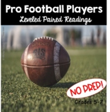 NFL Players Paired Reading Passages