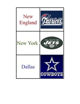 NFL Reinforcement Game