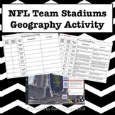 NFL Stadiums Geography Activity Using Google Earth