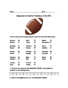 NFL Stats for Kids