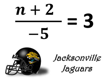 NFL Two Step Equations