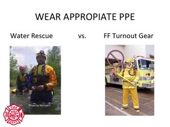 NFPA SWIFTWATER RESCUE AWARENESS