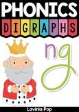 Digraph NG: Phonics Word Work {Multiple Phonograms}